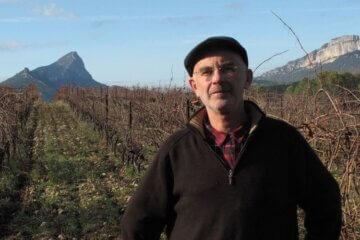 Jean-Luc Saumade et ses vignes